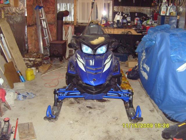 Marque de peinture bleu Yamaha pour accessoires... S7000010