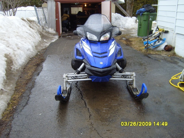 Marque de peinture bleu Yamaha pour accessoires... S7000310