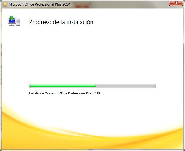 Microsoft Office Professional Plus 2010. [Español] Office18