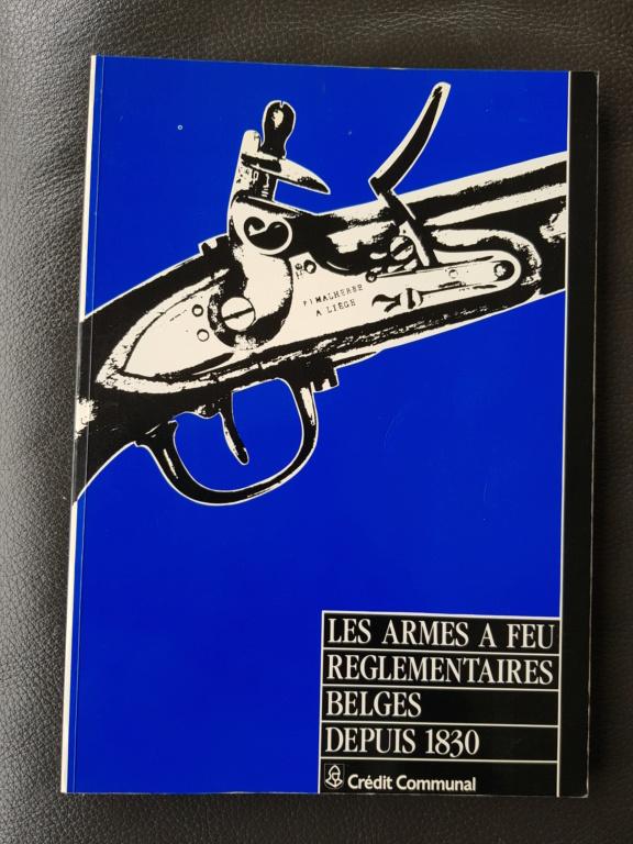 Les armes à feu réglementaires Belges depuis 1830 20190432