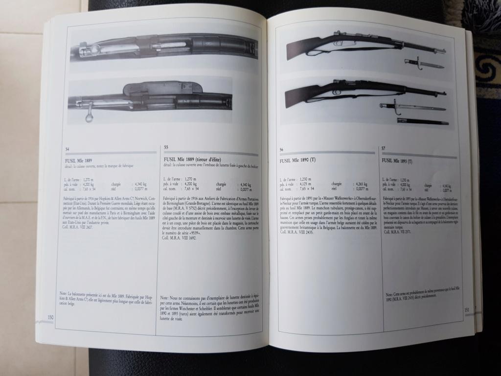 Les armes à feu réglementaires Belges depuis 1830 20190436