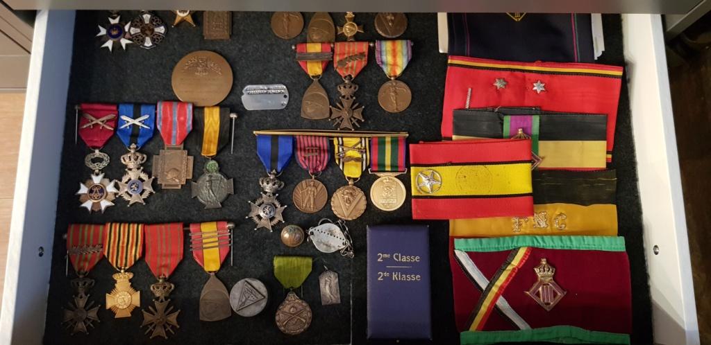 Ma collection de quelques médailles Belges... 20200717