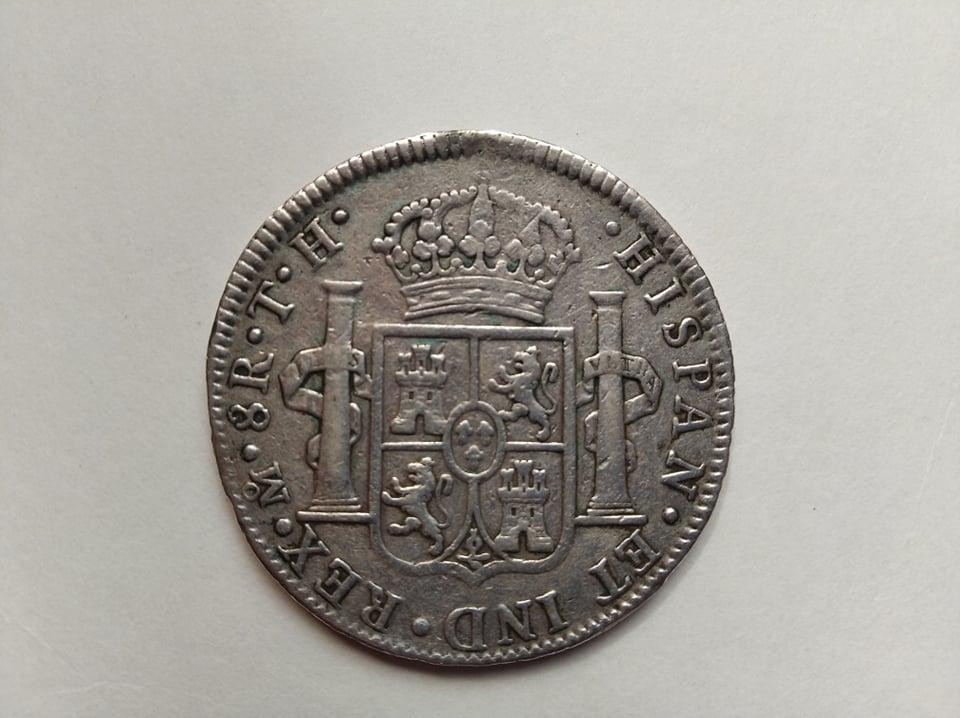 Escudos de Carlos IV y real de a 8 12018110