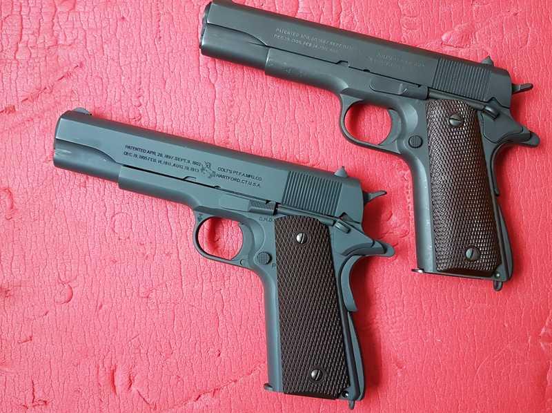Meilleure réplique airsoft tout métal de Colt 1911 A1 ? Les_co10