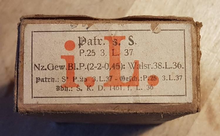 Boîtes cartouches 7,92 mauser, cartouches, lames Patron10