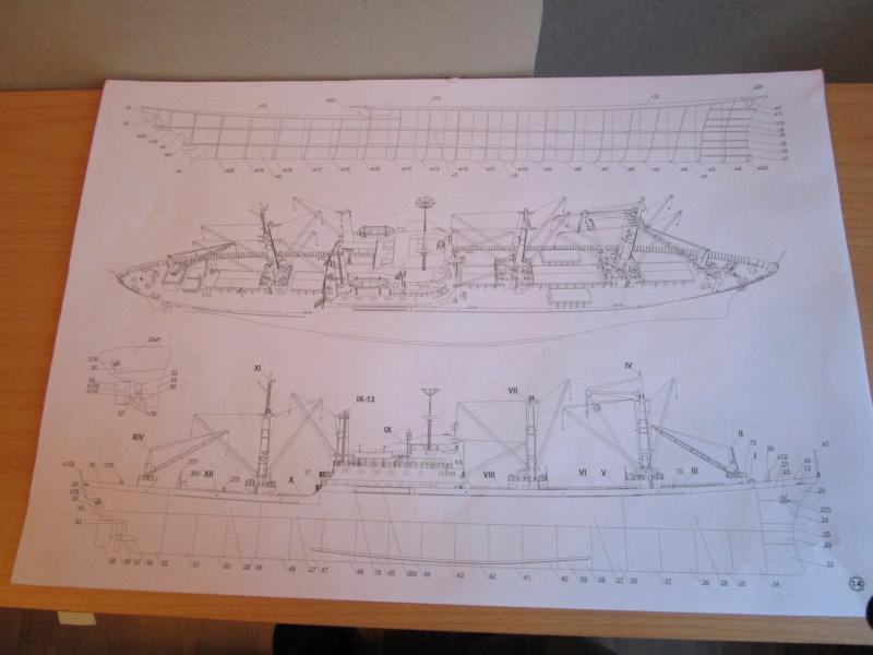Frachtschiff Cap San Diego 1:200 gebaut von Lothar 00213