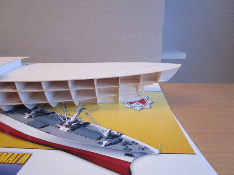 Frachtschiff Cap San Diego 1:200 gebaut von Lothar 01510