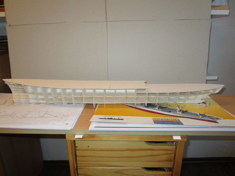 Frachtschiff Cap San Diego 1:200 gebaut von Lothar 01710