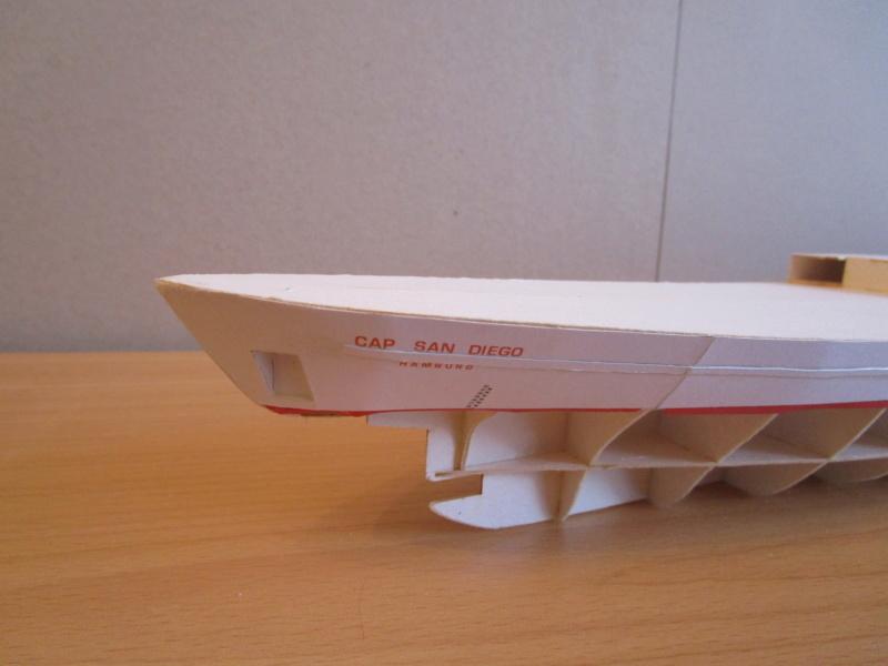Frachtschiff Cap San Diego 1:200 gebaut von Lothar 02710