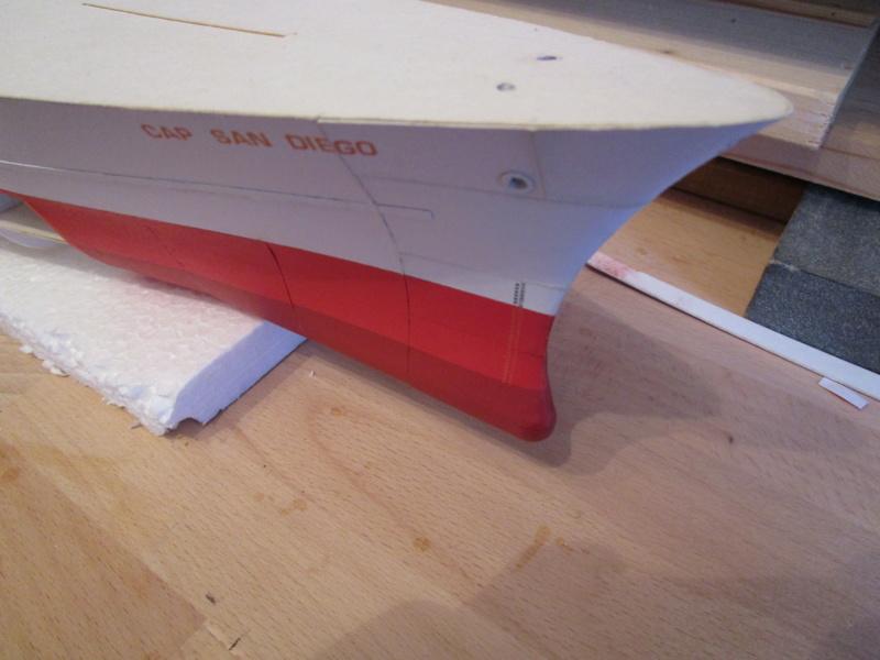 Frachtschiff Cap San Diego 1:200 gebaut von Lothar 03310