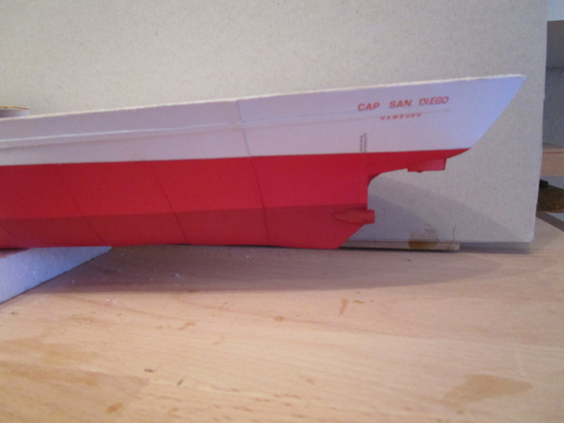 Frachtschiff Cap San Diego 1:200 gebaut von Lothar 03710