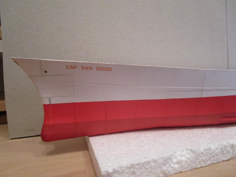 Frachtschiff Cap San Diego 1:200 gebaut von Lothar 03910