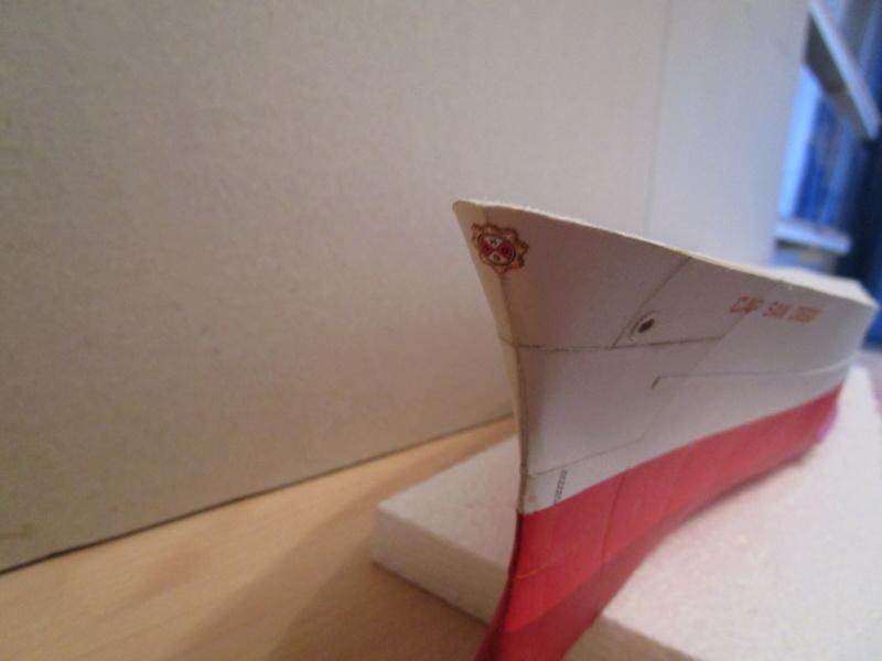 Frachtschiff Cap San Diego 1:200 gebaut von Lothar 04010