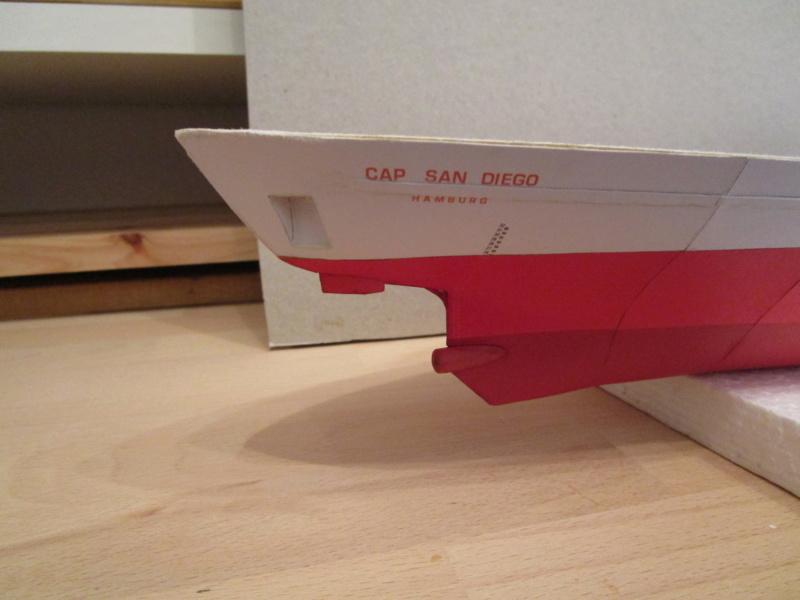 Frachtschiff Cap San Diego 1:200 gebaut von Lothar 04211