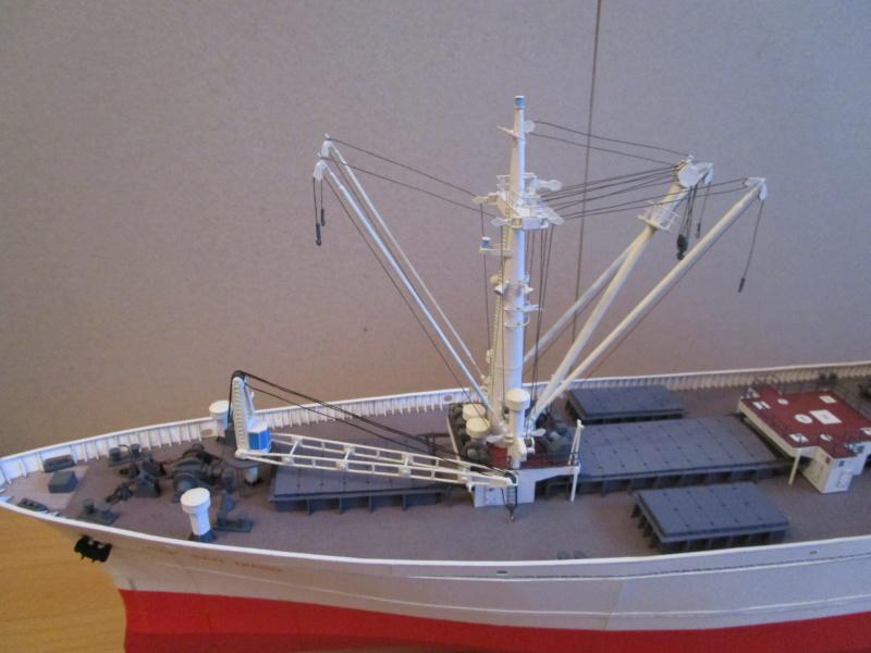Frachtschiff Cap San Diego 1:200 gebaut von Lothar - Seite 5 28011
