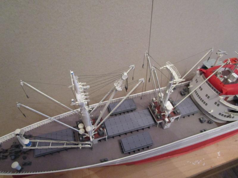 Frachtschiff Cap San Diego 1:200 gebaut von Lothar - Seite 5 30511