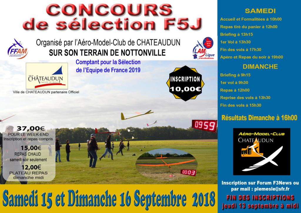 Concours de sélection F5J Nottonville septembre 2018 Affich10