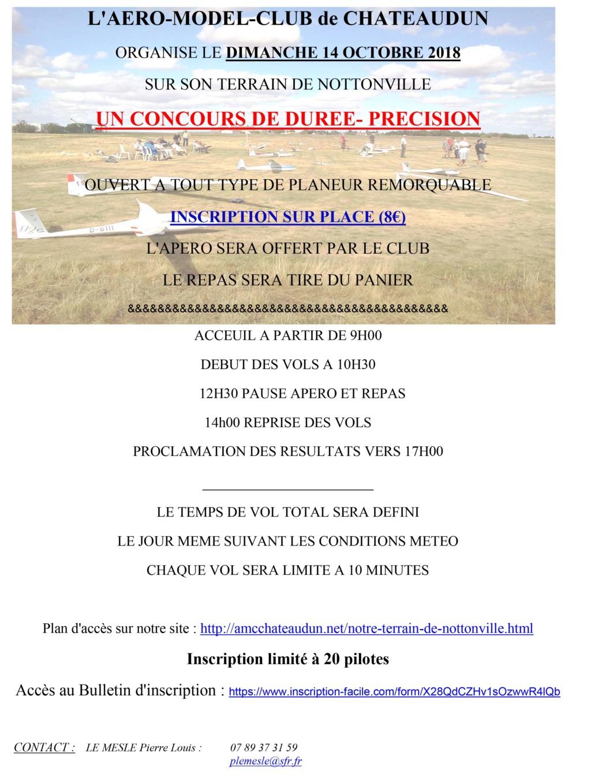 Concours de Durée précision le 14 octobre à Châteaudun Durzoe12