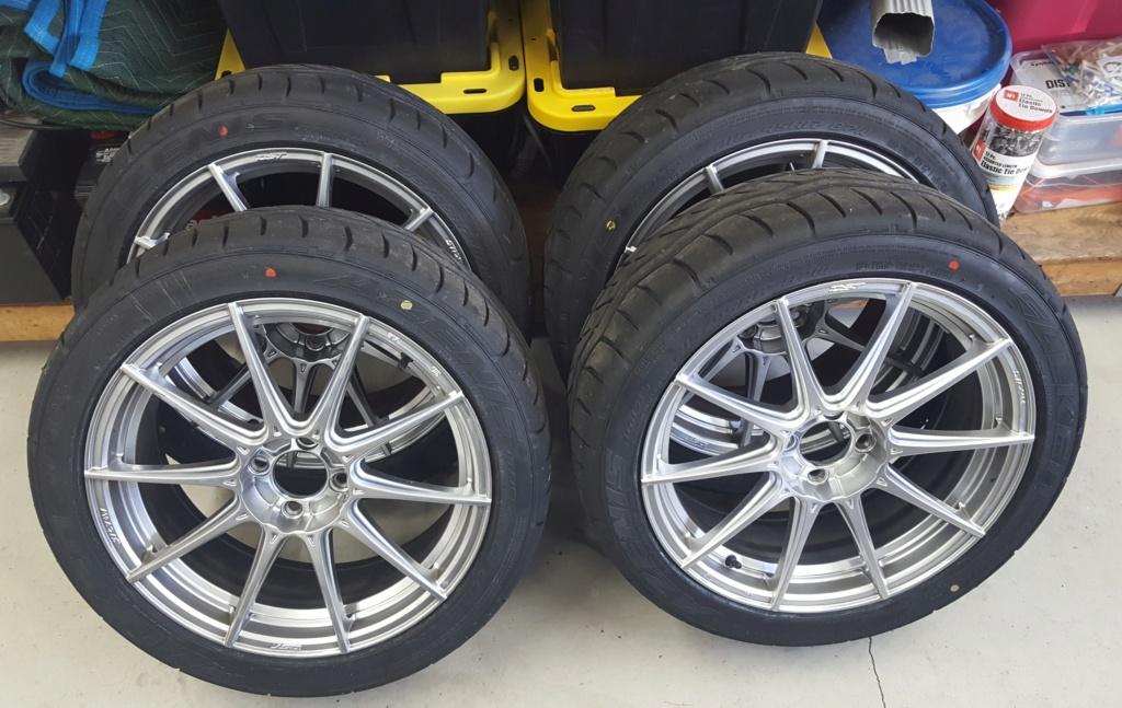 SOLD ND Wheels/tires - Muffler - Filter Miata410