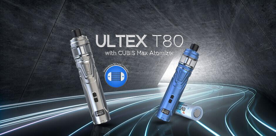 Le Ultex T80 et le Cubis Max de Joyetech : encore du nouveau pour les clearomiseurs Cover10