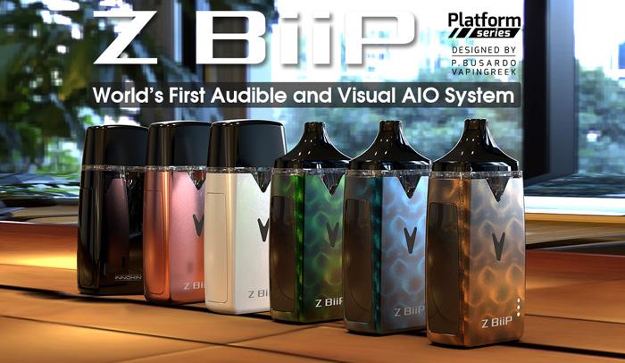 Innokin Z Biip : le système à pods qui fait bip (aides auditives) Innoki10