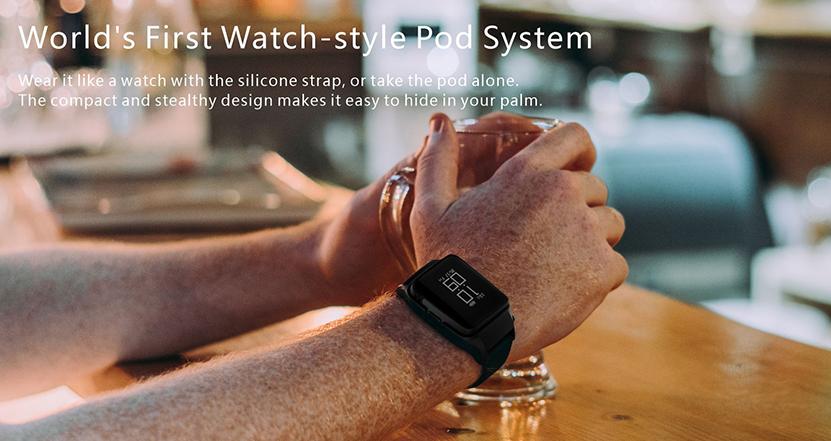 Uwell Amulet : quand on peut vaper sa montre ou bien mettre son pod au poignet. Uwell_11