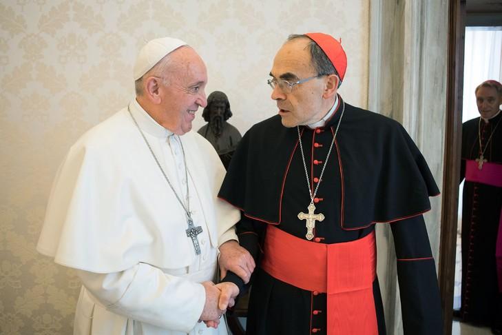 Pédophilie dans l'Eglise : le cardinal Barbarin annonce qu'il va remettre sa démission au pape Pape_f11