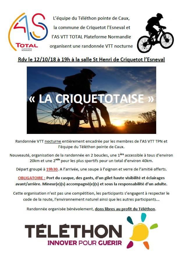 vendredi 12/10/18 La Criquetotaise - Criquetot l'Esneval Tzolzo10