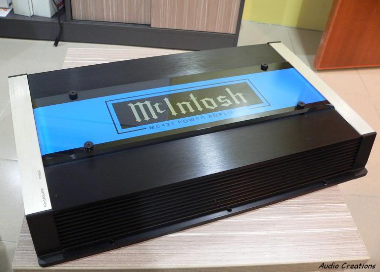 Mcintosh mc431 high-end amplifier 100wrms x 4 A2810