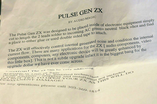 Audio Magic Pulse Gen ZX Pulseg18