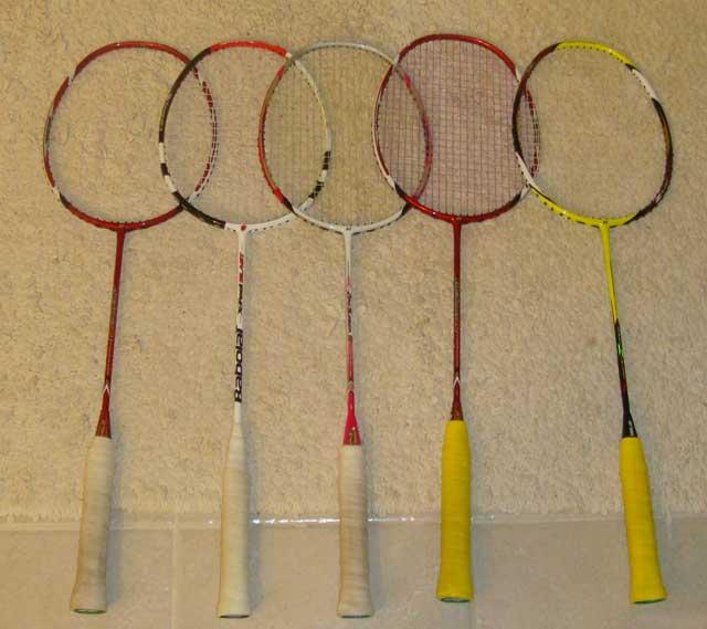 Show your badminton gears! 110