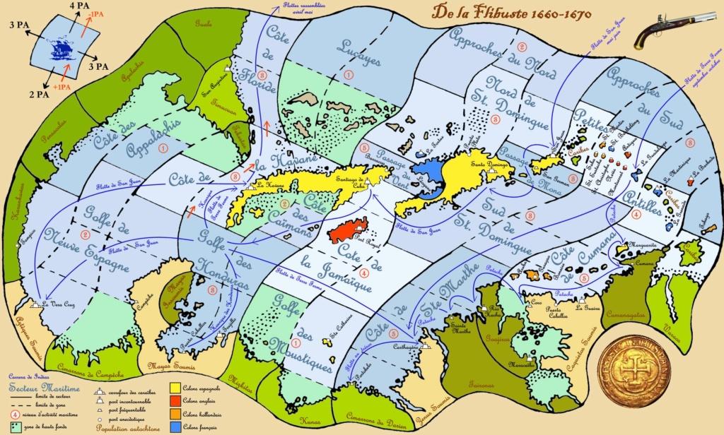 Carte et calendrier des Caraïbes Carted10