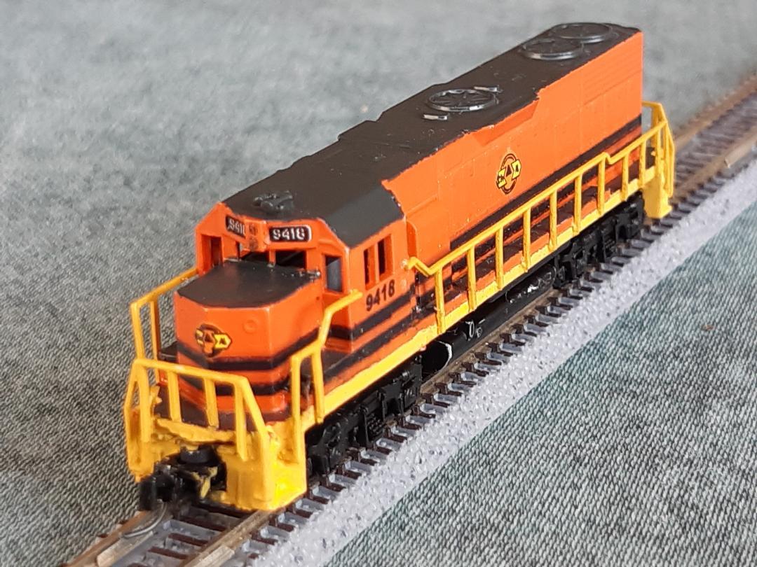 Déco GP38-2 Ferrocarril Chiapas Mayab / Genesee & Wyoming - Page 2 Fccm_g10