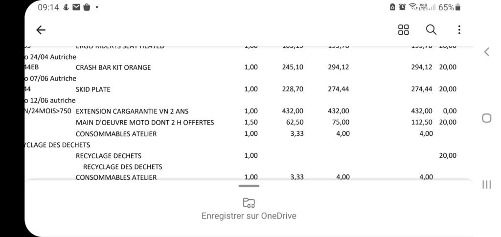 La garantie KTM pour 1290 SAS - Page 2 Screen10