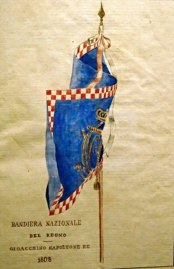 Pavillon de la Marine du Royaume d'Italie 1805-1814. 30412610