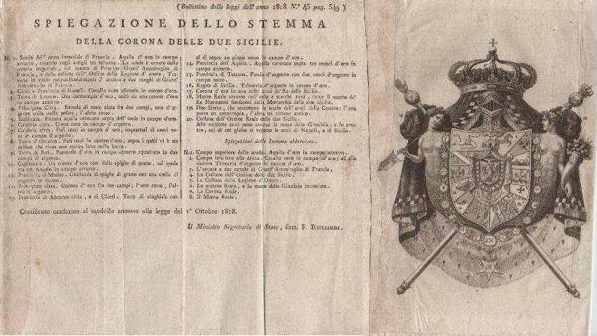 Pavillon de la Marine du Royaume d'Italie 1805-1814. 30443410