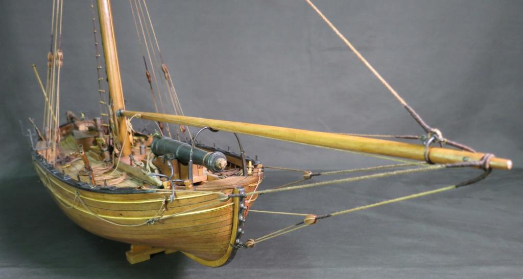 Parancelle canonnière (pièce de fer 18 lb.) Flottille Napolitaine 1811 - 1/24 (dessins: Luigi Ombrato) - Page 24 Img_2317