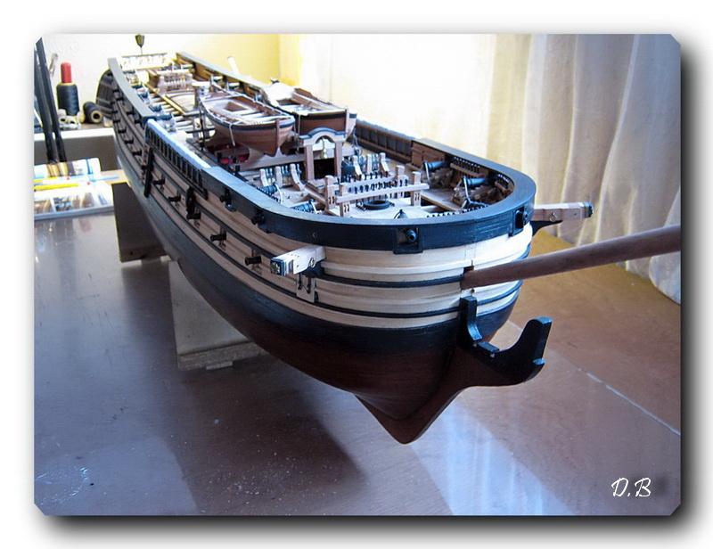Fregate H.M.S Surprise au 1/48 de A.L - Page 5 00214