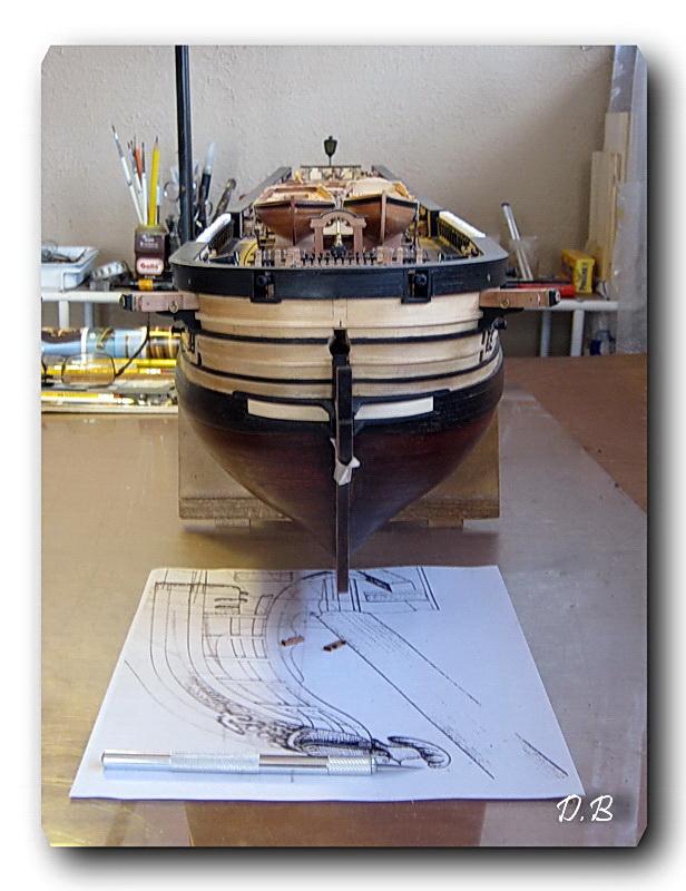 Fregate H.M.S Surprise au 1/48 de A.L - Page 6 00416