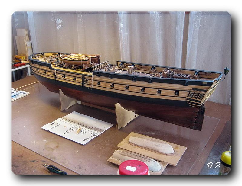Fregate H.M.S Surprise au 1/48 de A.L - Page 2 00910