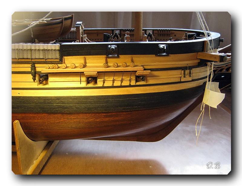 Fregate H.M.S Surprise au 1/48 de A.L - Page 19 00924