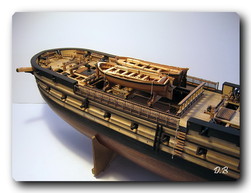 Fregate H.M.S Surprise au 1/48 de A.L - Page 5 Surp_134