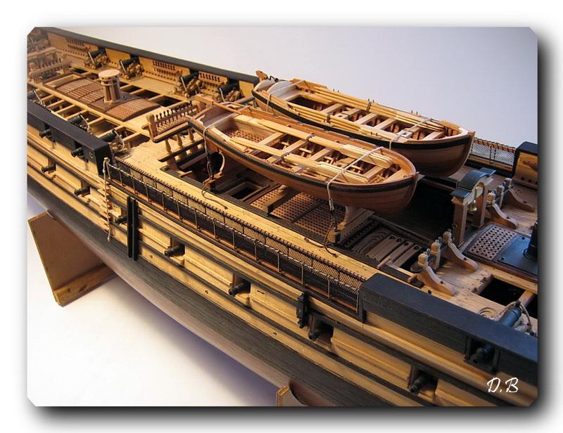 Fregate H.M.S Surprise au 1/48 de A.L - Page 5 Surp_136
