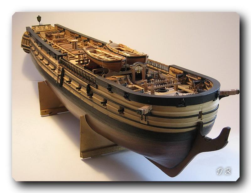 Fregate H.M.S Surprise au 1/48 de A.L - Page 5 Surp_137