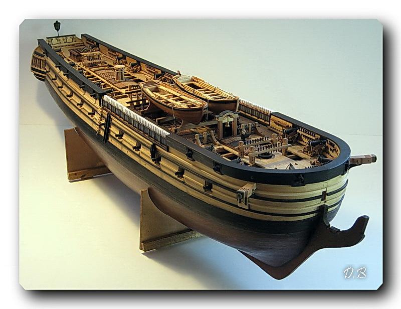 Fregate H.M.S Surprise au 1/48 de A.L - Page 5 Surp_142