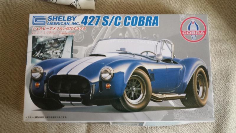 AC Cobra 427 s/c:Fujimi 1/24° Big-5310
