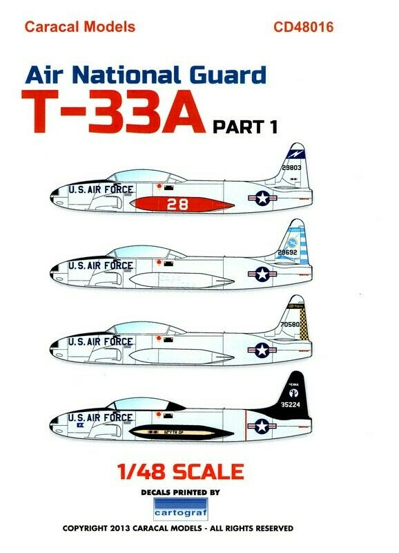 [Academy - 1/48°] lockheed T-33A  S-l16022