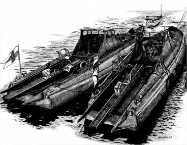 Thornycroft 55ft CMB torpedo @ 1:20 scale. 28b87e10