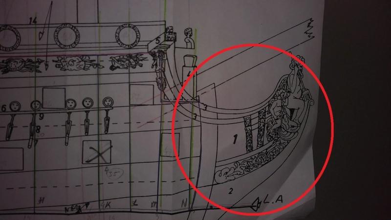 vascello 1760 da 76 cannonni - cartomodello 1/50 autocostruito - Pagina 2 1-prua10
