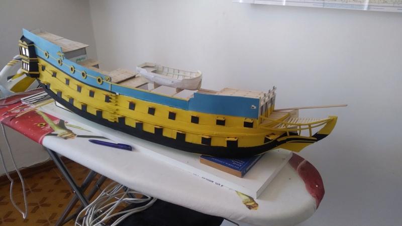 vascello 1760 da 76 cannonni - cartomodello 1/50 autocostruito - Pagina 2 1010